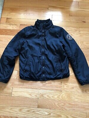 abercrombie fitch mens jacket large