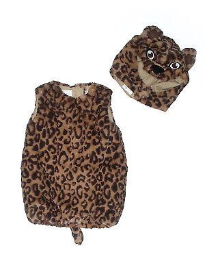 Boy Girl Pottery Barn Kids Leopard Cheetah Halloween Costume Size 12/24 - Boys Cheetah Costume