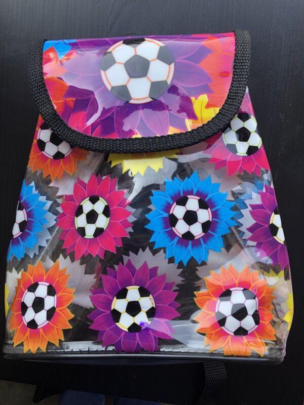 Vintage Lisa Frank Soccer Mini Backpack