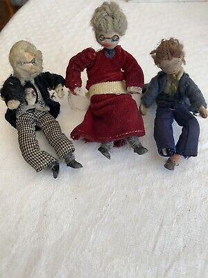 VINTAGE GRECON DOLLS X 3 With Labels