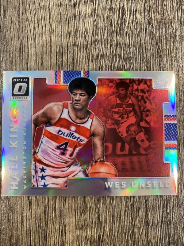 Basketball Card Deans Cards 5 EX Bullets 1978 Topps # 7 Wes Unseld Washington Bullets Wizards Wizards Louisville