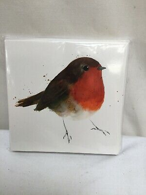 Charity Christmas Cards Willow Wood Hospice PROUD ROBIN Envelopes 10 Pk ()