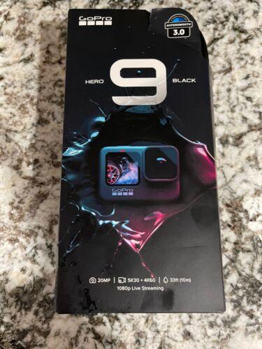 GoPro HERO9 Black 5K and 20 MP Streaming Action Camera (Black) CHDHX-901-XX