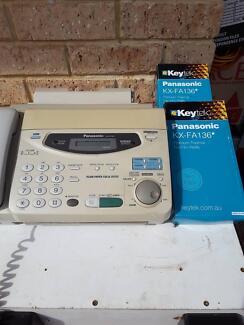 Panasonic fax and copy machine