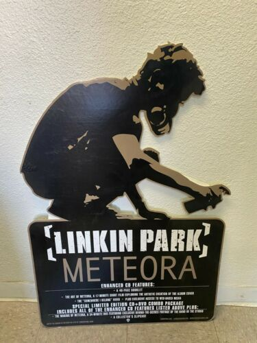 Linkin Park Meteora PROMO DISPLAY HUGE RECORD STORE STAND