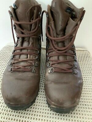 ALTBERG DEFENDER BROWN HIGH LIABILITY BOOTS  SIZE 9M BRITISH MILITARY ARMY