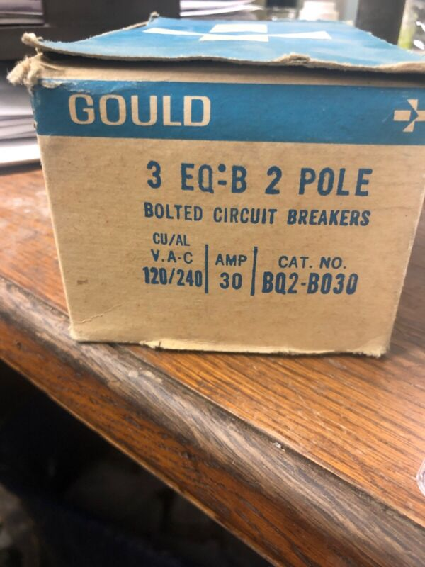 Gould Bolted Circuit Breakers BQ2-B030