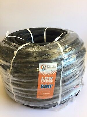 Boss Low Pressure Heated Hose 2000 Psi 38 X 200 Spray Foam Hose