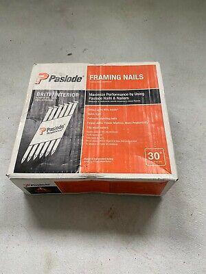 Paslode Brite Smooth Framing Nails Shank 3 X 0.131 Gauge 30 Degree 650830