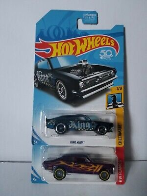 Hot Wheels Super Treasure Hunt '68 Chevy Nova & King Kuda Lot