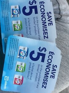 2 Similac coupons for trade