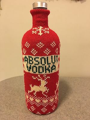 Absolut Vodka 1 Liter Bottle Sweater By Cynthia Rowley
