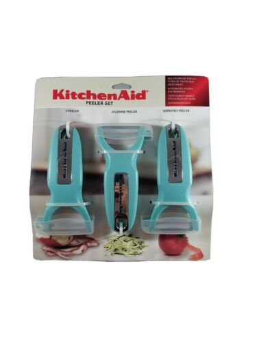 KitchenAid Classic 3-pc Handheld Peeler Set, Y-Peeler, Julie
