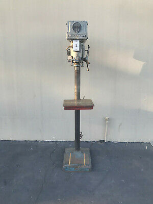 Clausing 15 Drill Press 5-speed Step Pulley Woodworking Machinery