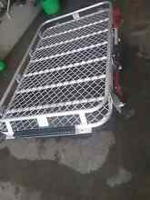 80 series landcruiser  alloy roof rack full length  with hi lift Gordonvale Cairns City Preview