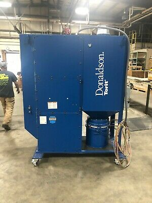 Donaldson Torit Dfo 2-2 Downflo Oval Dust Collector