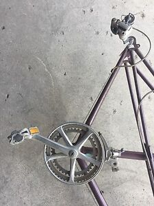 Raleigh 10 speed frame, gears, brakes