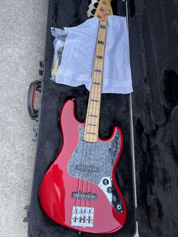 2015 Fender Geddy Lee American Jazz Bass Mint Sn: US 15030807