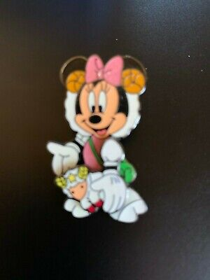 Disney JDS Zodiac Series 2005 March / Aries Minnie Rare Pin LE