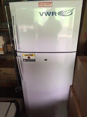 Vwr Laboratory Refridgerator Freezer Scrfc-16m R134a 115v Lock Key Included