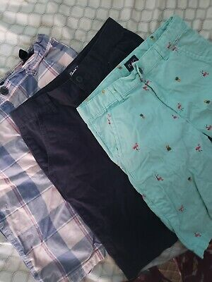 Youth BOYS Shorts Size 14 XL The Children's Place lot ,pre-owned , 3 shorts