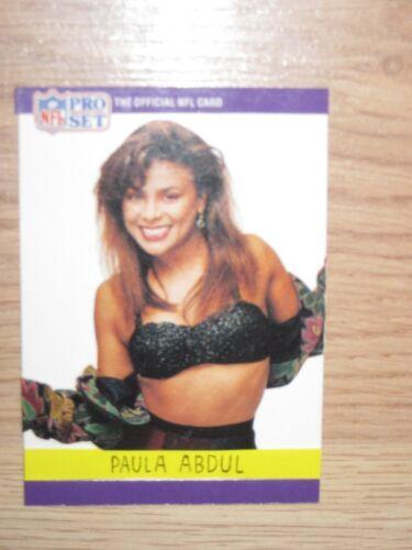 One-Of-A-Kind 1990 Pro Set Custom Made Paula Abdul Rookie Card/Free Shipping!