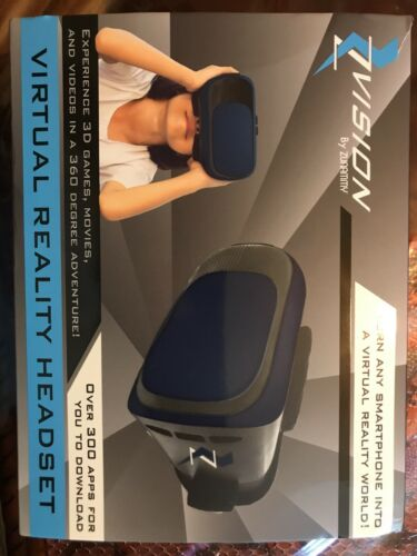 Zvision Virtual Reality Headset, Turn Any Smartphone Into A World (Silver)