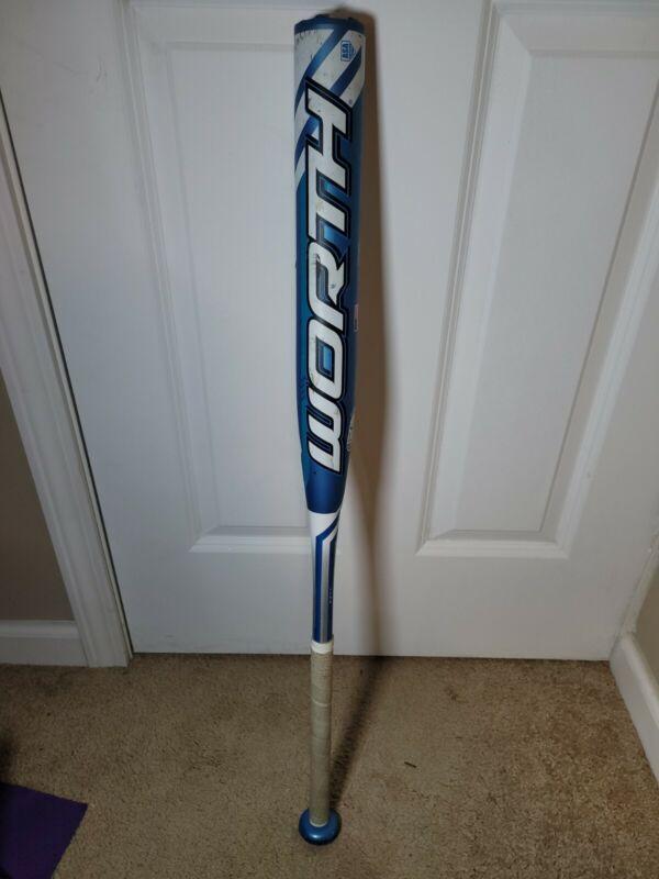 Worth FPLG10 33/23 Legit Blue/White Fastpitch Softball Bat -10