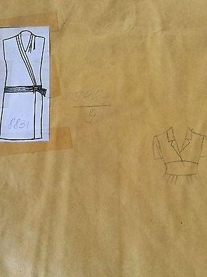 Vintage 90s Pop Era Fashion Couture Wrap Dress Pattern 8831~Macys Clothing Line