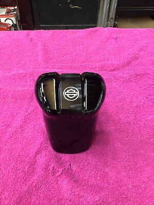 🏍   HARLEY DAVIDSON OEM GLOSS BLACK WATERFALL STYLE HORN COVER 61300626A 🏍
