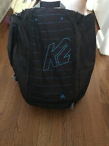 K2 snowboarding backpack