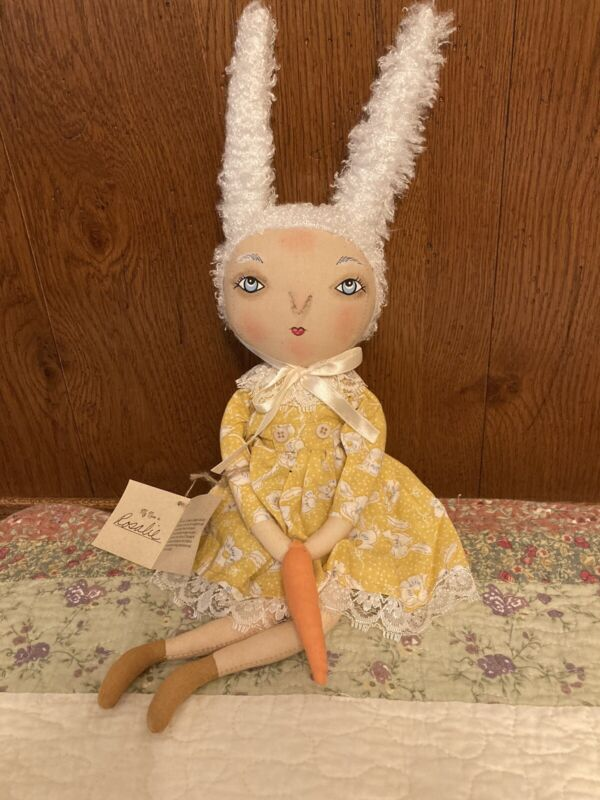 Joe Spencer Gallerie II Rosalie Rabbit Spring Figure