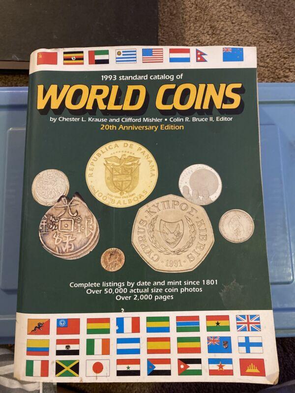 standard catalog of world coins 20th anniversary edi