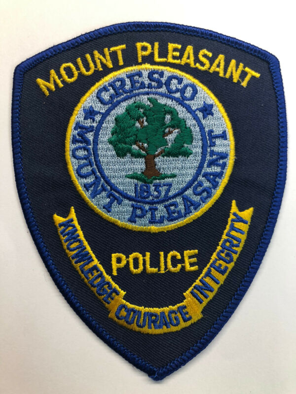 Mount Pleasant South Carolina Police Patch~New Condition