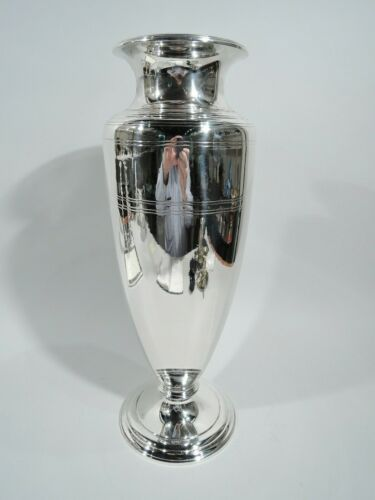 Tiffany Vase - 20852 - Antique Art Deco Classical - American Sterling Silver