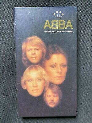 Abba - Thank You For the Music Limited Edition 4 CD Box Set