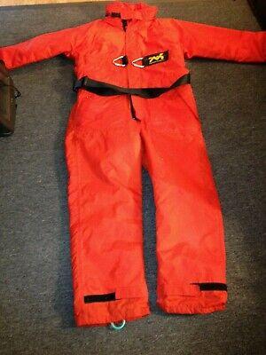 A fishing Thermotic Flotation Suit - Size Medium - inside leg 68
