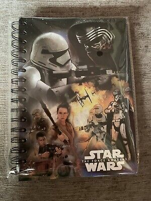 Disney Star Wars: The Force Awakens: A5 Hardback Notebook, 80 Pages, Sealed