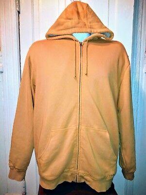 Katahdin Iron (LL Bean Katahdin Iron Works XLT Sherpa Lined  Sweatshirt men's Hoodie Brown )