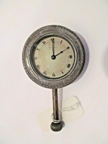 Vintage Waltham Automobile Clock