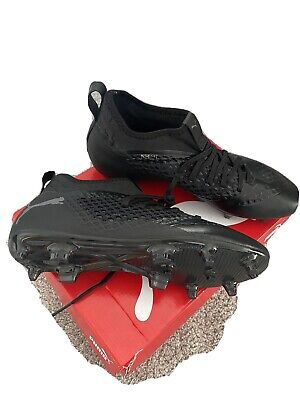 PUMA FUTURE FLASH 2.3 Black football boots iconic size uk 8 greizmann Fg Sn99