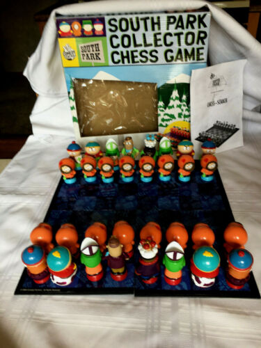 Comedy Central 2004 South Park Collector Chess Game