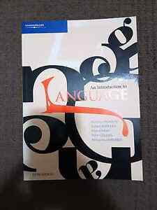 An Introduction to Language textbook Upper Mount Gravatt Brisbane South East Preview