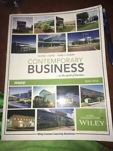 Contemporary business book