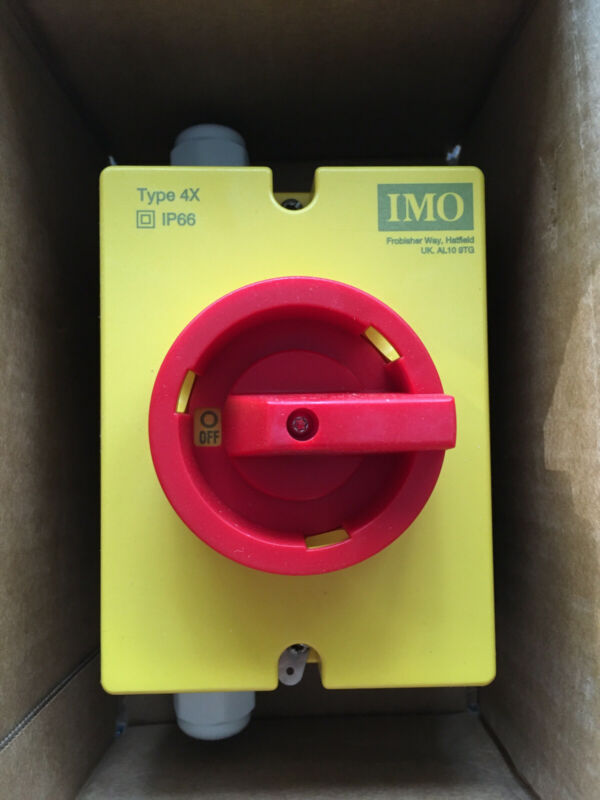 IMO PE69-3020  MAIN SWITCH - AKA SAFETY SPEED MFG. PS910