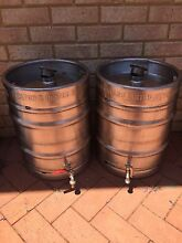 Stainless Steel 50L Keg Wine Barrels Canning Vale Canning Area Preview