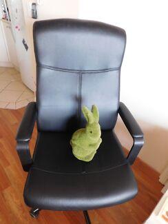 Black desk chair for sale Coolangatta Gold Coast South Preview