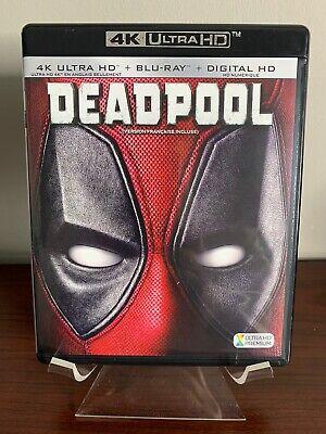 DEADPOOL (4K Ultra HD + Blu-ray) Mint Condition