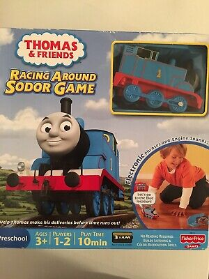 FISHER-PRICE: Talking Thomas the Train Racing Around Sodor Game ~~ Ca. 2011