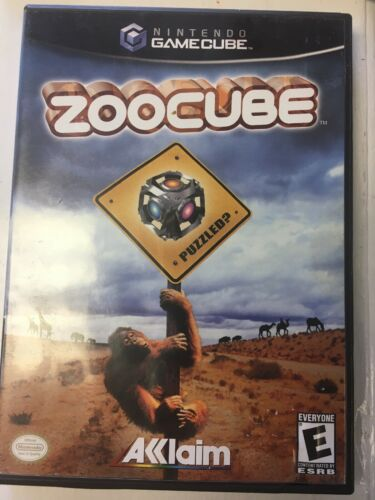 ZooCube (Nintendo GameCube, 2002) FREE SHIPPING Tested & Working CIB